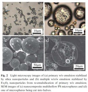 Nanocomposite Multihollow Microspheres