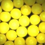 355-425um Yellow microspheres