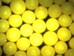 Highly Negative Charged Microspheres - Polyethylene, Selection of Sizes 5 to 500um