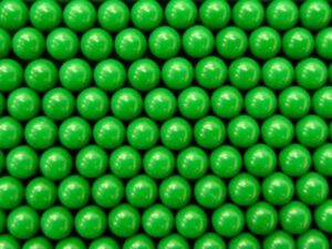 Precision Spheres - Green Cellulose Acetate
